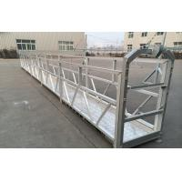 Wholesale ZLP Series Hot Galvanized / Aluminum Suspended Platform Cradle For high-rise Building Wall Painting , Glass Cleaning from china suppliers