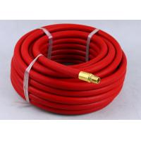 Wholesale Red Rubber Air Hose with BSP Or NPT Fittings , Rubber Air Line BP 900 / 1200 Psi from china suppliers
