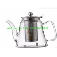 Buy cheap borosilicate glass teapot from wholesalers