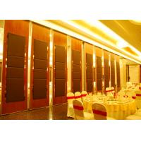 Wholesale Plywood / Gypsum Wooden Hanging Sliding Partition Walls  Bare Finish from china suppliers