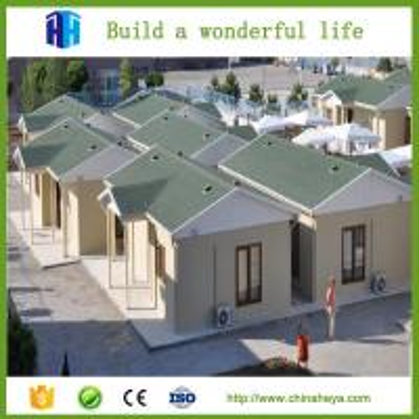 2017 Light Steel Prefab Villa Model Houses Design In