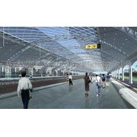 Quality Railway Station Prefabricated Steel Structures , Steel Frame Buildings for sale