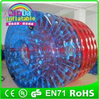 Wholesale QinDa Inflatable New water toys water walking roller Water Roller For Kids from china suppliers
