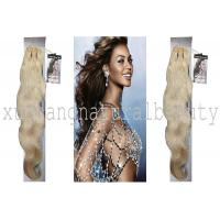 Wholesale 100 Virgin Indian Remy Hair Extensions , Body Wave Human Hair Tangle Free OEM from china suppliers