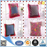 Wholesale Customized Outdoor Cushion Covers , Sofa Seat Cushion Cover With Polyster And Cotton from china suppliers