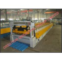 Buy cheap Trapezoid Shape Steel / Aluminium Roof Panel Roll Forming Machine 1200 meters / hour from wholesalers