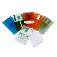 Wholesale Transparent 2G, 4G Credit Card USB Drives for Windows Vista / XP (MY-UC102) from china suppliers