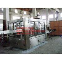 Wholesale monoblock 3in1 glass bottle vinegar filling machine from china suppliers