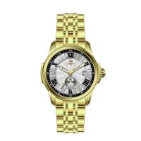 Wholesale Business Round Case Stainless Steel Wrist Watch For Men Luxury from china suppliers
