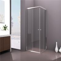Wholesale Sliding Door Square Shower Cabin , Tempered Clear Glass Shower Enclosure from china suppliers
