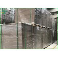 Wholesale 750gsm to1500 gsm Unocated Triplex Board Paper / Hard Cardboard from china suppliers
