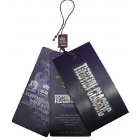 Wholesale Personalized Clothing Hang Tags With Customized Logos 0.2 ~ 2mm Thickness from china suppliers