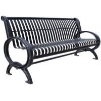 Wholesale Customized Stainless Steel Outdoor Bench Metal Garden Furniture Corrosion Resistant from china suppliers