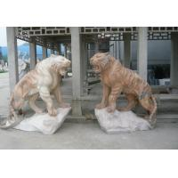 Quality marble animal sculpture with nature stone,,China stone carving Sculpture supplier for sale