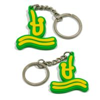 Wholesale Classic style pvc key holder 3d pvc key chains 2d pvc keyring from china suppliers