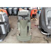 Wholesale Ride On Type Internal Battery Powered Floor Scrubber In Grey Color With Double Brushes from china suppliers