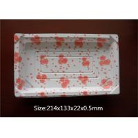 Quality Commercial Kitchen Square Plastic Meat Trays For Dining Room Serving Platters for sale