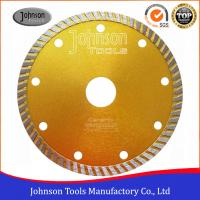 Wholesale 125 Mm Sintered Turbo Hot Press Diamond Cutting Blades For Tiles GB Standard from china suppliers