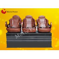 Wholesale Push Back / Electric Shock 3 DOF Motion Theater Seats / Chair With Wood Frame from china suppliers