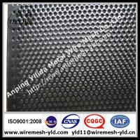 Wholesale mini hole perforated metal sheet,metal wire mesh with Black PVC coated from china suppliers