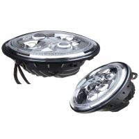 Wholesale LED Vehicle Headlights With Angel Eyes , Jeep Wrangler LED Work Lights 4x4 from china suppliers