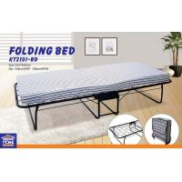 Wholesale Super Strong Portable Folding Rollaway Bed , Single Guest Beds Comfortable Furniture from china suppliers