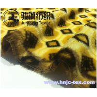 Wholesale Customized patterns animal Stripes Flannel Blanket Fabric Coral Fleece for apparel and bed from china suppliers
