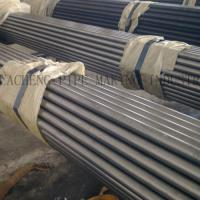 Wholesale ASTM A53 Black Hot - Dipped ERW Steel Tube , Zinc - Coated Welded Seamless Gas Pipe from china suppliers