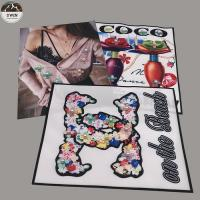 Wholesale Sew On Embroidery Blank Patches , Customized 3d Embroidery Patches from china suppliers