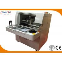 Wholesale Dual Table PCB Router Machine with Optional Upper/Lower Vacuum Cleaner from china suppliers