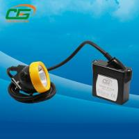 Wholesale Long tighting time 3.7V alluminum underground safety helmet lamp with cord from china suppliers