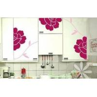 Wholesale The Classic PVC House Decoration Wall Flower Sticker F237 from china suppliers