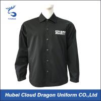Wholesale Customized Spring Security Guard outwear Jackets for men from china suppliers