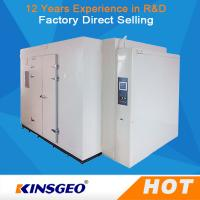 Wholesale Multi Function Walk In Temperature Humidity Test Chamber WIth Ni-Cr Electric Heater from china suppliers