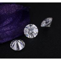 Wholesale 0.85Ct 6mm Genuine Diamond Moissanite VVS Round Shape Excellent Cut from china suppliers