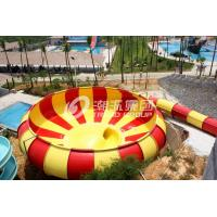 Wholesale Customized Fun Aqua Park Fiberglass Water Slides Giant Space Water Slides for Water Project from china suppliers