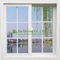 Wholesale White Color UPVC Sliding Window With Grilled For ResidentialHome, Vinyl Sliding windows from china suppliers