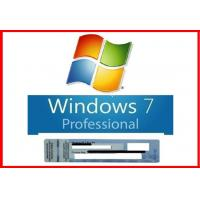 Wholesale New Sealed Microsoft Windows 7 Pro Professional 64 Bit DVD+100% Original COA License Key from china suppliers