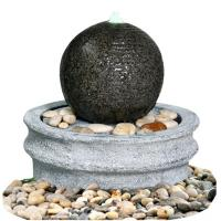 Wholesale Marble Ball Outdoor Sphere Water Fountains Outdoor / Indoor Sphere Garden Fountain from china suppliers