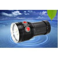 Wholesale MarsFire D-F5 6*T90 6500LM led dive flashlight , under water 100m 3 color fill light led torch from china suppliers