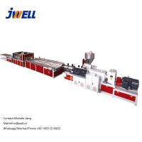 Wholesale Jwell High output PVC decorative profile extruder machinery Plastic Door Frame Profile Extrusion Production Line from china suppliers