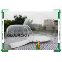 Wholesale Advertisement TPU Material Inflatable Bubble Tent Waterproof Fire Retardant from china suppliers
