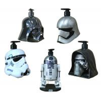 Wholesale Metal Color Star War Movie Solders Plastic Cartoon Shampoo Bottle Use For Home Storage Liquid from china suppliers