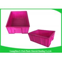 Wholesale Durable Plastic Stackable Containers Tote Storage System 480*355*170mm from china suppliers