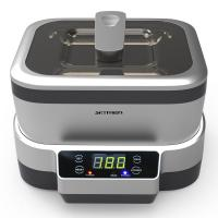Buy cheap RoHS 1.2 Liters Detachable Gray Ultrasonic Cleaner With Degas Function from wholesalers