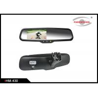 4.3 Inch Rear View Mirror Backup Camera System With High Reflective Rate