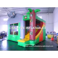 Wholesale Elephant Inflatable Jumper Obstacle Course Combo Slide For Residential from china suppliers