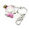 Buy cheap Shinning Diamond USB Flash Disk, High Speed USB Jewelry Flash Drive OEM from wholesalers