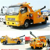 Wholesale road wrecker with crane Tow crane road wrecker WhatsApp:8615271357675  Skype:tomsongking from china suppliers