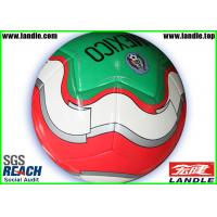Wholesale Silk Screen / Heat Transfer Printing Soccer Balls Machine stitched Process from china suppliers